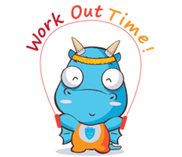 Concordian Dragon sticker #8525031