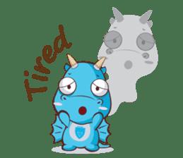 Concordian Dragon sticker #8525032