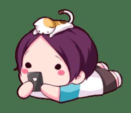 Fluffy Nyam sticker #8525546
