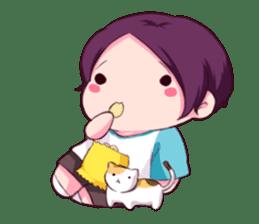 Fluffy Nyam sticker #8525555