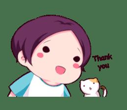 Fluffy Nyam sticker #8525560