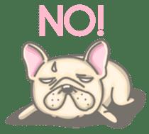 Frenchy the French Bulldog sticker #8533708