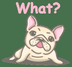 Frenchy the French Bulldog sticker #8533710