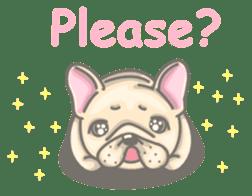 Frenchy the French Bulldog sticker #8533711