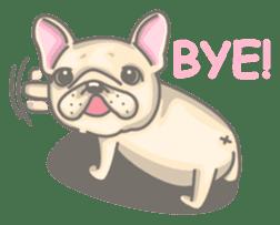 Frenchy the French Bulldog sticker #8533712