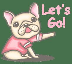 Frenchy the French Bulldog sticker #8533715