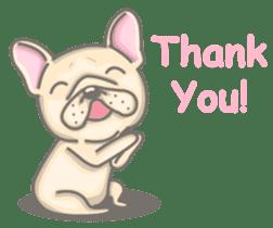 Frenchy the French Bulldog sticker #8533717