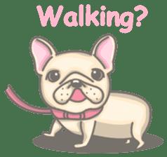 Frenchy the French Bulldog sticker #8533718