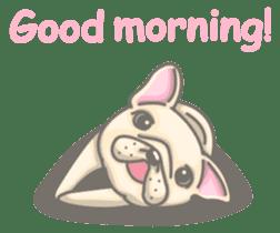 Frenchy the French Bulldog sticker #8533719