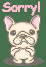 Frenchy the French Bulldog sticker #8533721