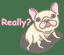 Frenchy the French Bulldog sticker #8533728