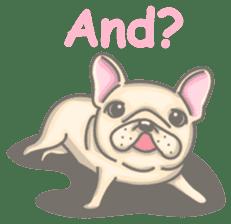 Frenchy the French Bulldog sticker #8533729
