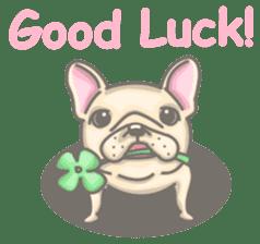 Frenchy the French Bulldog sticker #8533734