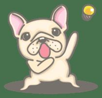 Frenchy the French Bulldog sticker #8533736