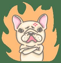 Frenchy the French Bulldog sticker #8533739