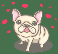 Frenchy the French Bulldog sticker #8533740