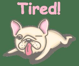 Frenchy the French Bulldog sticker #8533741