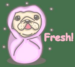 Frenchy the French Bulldog sticker #8533743