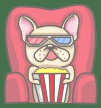Frenchy the French Bulldog sticker #8533744
