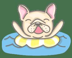 Frenchy the French Bulldog sticker #8533745