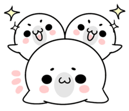 More! Storm of seal sticker #8535591