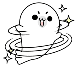 More! Storm of seal sticker #8535595