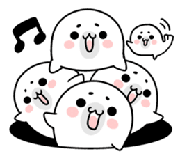 More! Storm of seal sticker #8535606