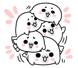 More! Storm of seal sticker #8535610