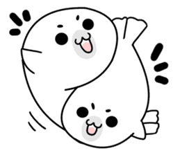 More! Storm of seal sticker #8535613