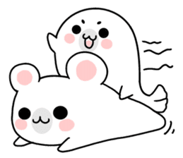 More! Storm of seal sticker #8535615