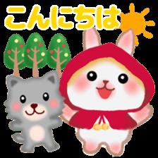 Little Red Riding Hood Rabbit sticker #8536667