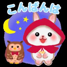 Little Red Riding Hood Rabbit sticker #8536668