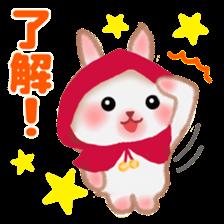 Little Red Riding Hood Rabbit sticker #8536670