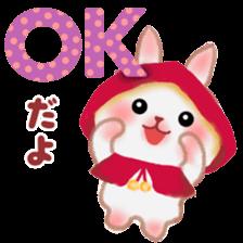 Little Red Riding Hood Rabbit sticker #8536671