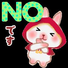 Little Red Riding Hood Rabbit sticker #8536672