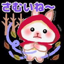 Little Red Riding Hood Rabbit sticker #8536678