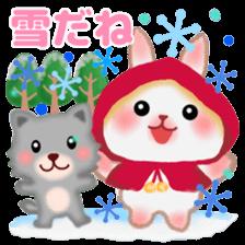 Little Red Riding Hood Rabbit sticker #8536679