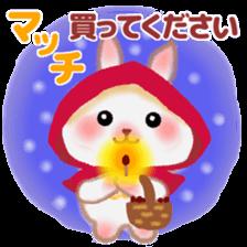 Little Red Riding Hood Rabbit sticker #8536680