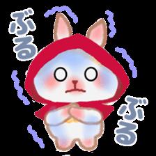 Little Red Riding Hood Rabbit sticker #8536682