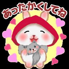 Little Red Riding Hood Rabbit sticker #8536683