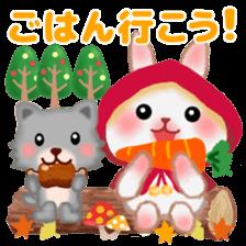 Little Red Riding Hood Rabbit sticker #8536684