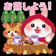 Little Red Riding Hood Rabbit sticker #8536685