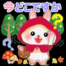 Little Red Riding Hood Rabbit sticker #8536686