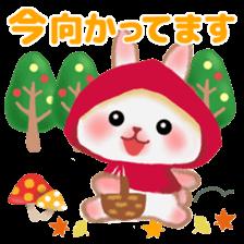 Little Red Riding Hood Rabbit sticker #8536687
