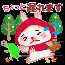 Little Red Riding Hood Rabbit sticker #8536688