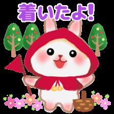 Little Red Riding Hood Rabbit sticker #8536689