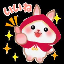 Little Red Riding Hood Rabbit sticker #8536690