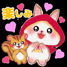 Little Red Riding Hood Rabbit sticker #8536692