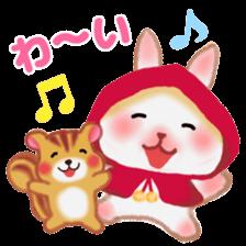 Little Red Riding Hood Rabbit sticker #8536693