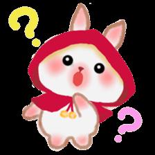 Little Red Riding Hood Rabbit sticker #8536694